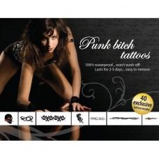 Tattoo Set - Punk Bitch