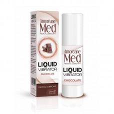 Лубрикант З Ефектом Вібрації Amoreane Med Liquid Vibrator Chocolate (30 Мл