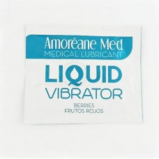 Пробник Лубриканта З Ефектом Вібрації Amoreane Med Liquid Vibrator Berries (2 Мл.