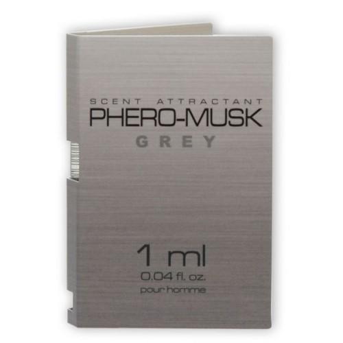 Пробник Aurora PHERO-MUSK GREY, 1 мл