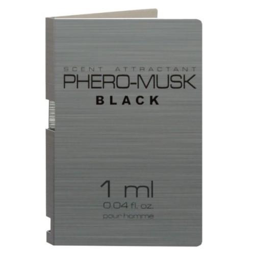 ПробникPHERO-MUSK BLACK for men, 1 ml