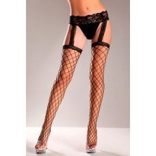 Fence Net Garter Belt Stockings