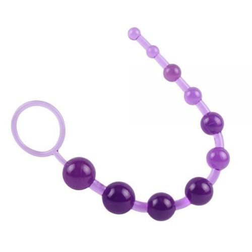 Анальная цепочка SASSY Anal Beads-Purple