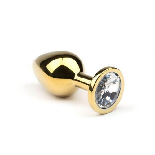 Анальная пробка,Gold Diamond,L