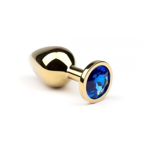 Анальная пробка,Gold Sapphire,L