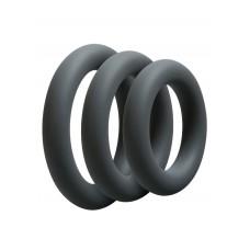 Набір Ерекціонних Кілець Doc Johnson Optimale 3 C-Ring Set Thick