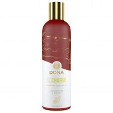 Масажне Масло Dona Recharge - Lemongrass & Ginger Essential Massage Oil, 120Ml