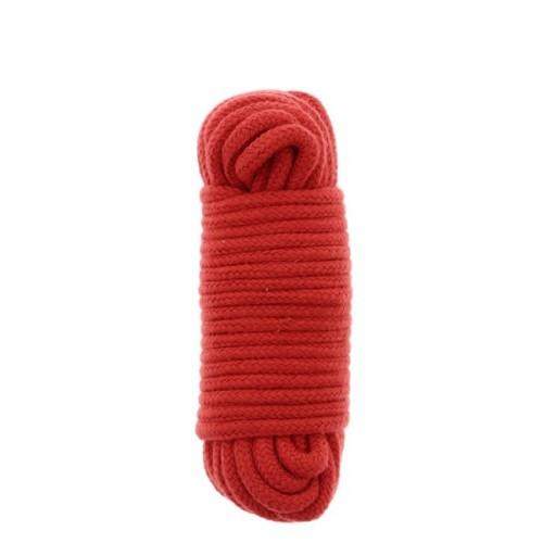 Бондажная веревка BONDX LOVE ROPE - 10M, RED