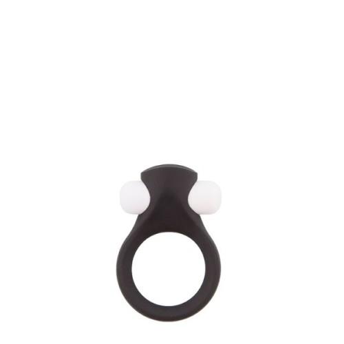 Эрекционное кольцо LIT-UP SILICONE STIMU RING 2, BLACK