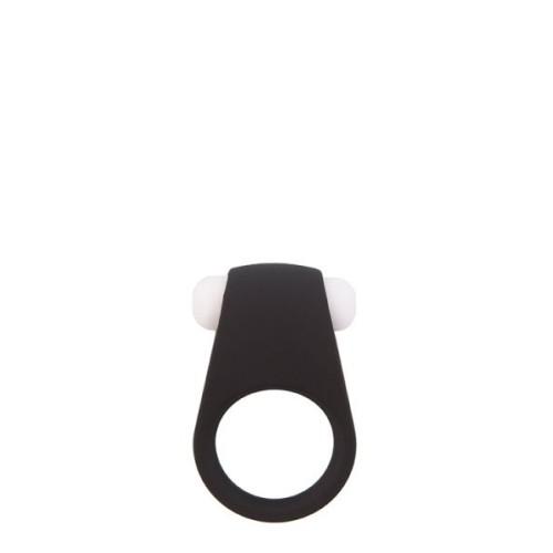 Эрекционное кольцо LIT-UP SILICONE STIMU RING 4, BLACK