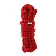 Веревка для бондажа BLAZE DELUXE BONDAGE ROPE 5M RED