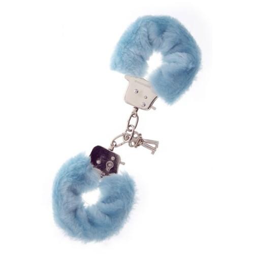 Наручники Metal Handcuff with Plush BLUE