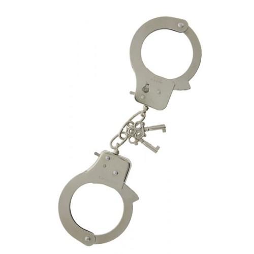Наручники, Large Metal Handcuffs with Keys