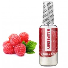 Съедобный гель-лубрикант EGZO AROMA GEL - Raspberry, 50 мл