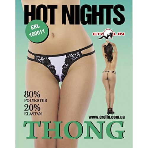 Трусики Hot Nights White, M