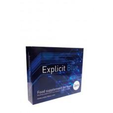 Explicit Blue Erection Tabs 4Pcs