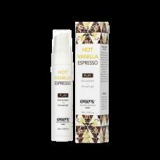 Стимулюючий Гель Exsens Kissable Hot Vanilla Espresso 15Мл Термін Придатності 02 2021)