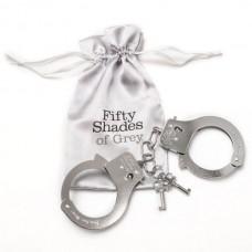 """Металлические наручники """"Ты Моя"""""""