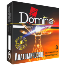 Презервативи Domino Classic Анатомічні