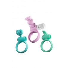 Love 3Pc Silicone Ornament With Bullet
