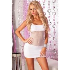 Adrenaline Seamless Net Dress White