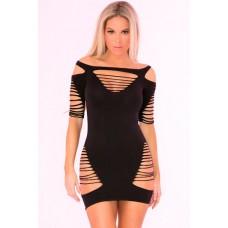 Back To Bad Seamless Dress Black