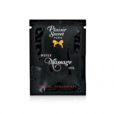 Пробник Масажного Масла Plaisirs Secrets Strawberry (3 Мл