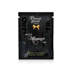 Пробник Масажного Масла Plaisirs Secrets Exotic Fruits (3 Мл