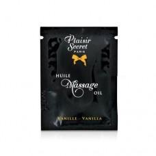 Пробник Масажного Масла Plaisirs Secrets Vanilla (3 Мл