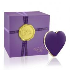 Вібраторсердечко Rianne S: Heart Vibe Purple, 10 Режимів Роботи, Медичний Силікон