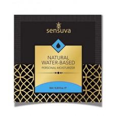 Пробник Sensuva - Natural Water-Based (6 Мл