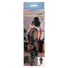Анальна пробка - Fanny Hills Black Butt Plug