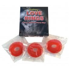 Желейні Ерекційні Кільця Gummy Love Rings (45 Гр