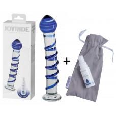 Стеклянный фаллоимитатор-JOYRIDE Premium GlassiX Set 08