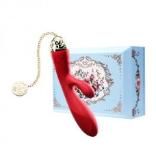 Вібромасажер - Кролик З Функцією Управління З Смартфона Zalo Rosalie, Bright Red