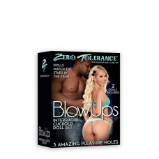 Blowups Interracial Cuckold Doll Set