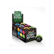 Zolo Pocket Pool Display 12Pc